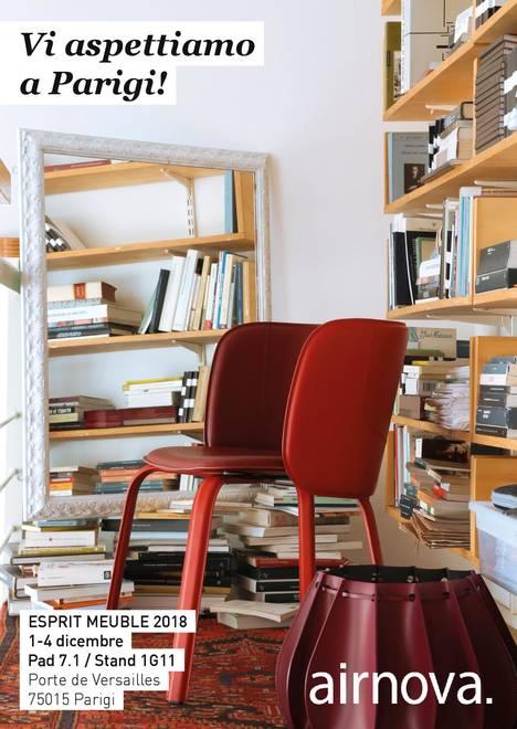 airnova design italian leather seatings esprit meuble 2018